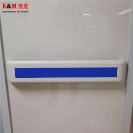 走廊扶手 PVC带铝板走廊防撞扶手 防撞扶手厂家