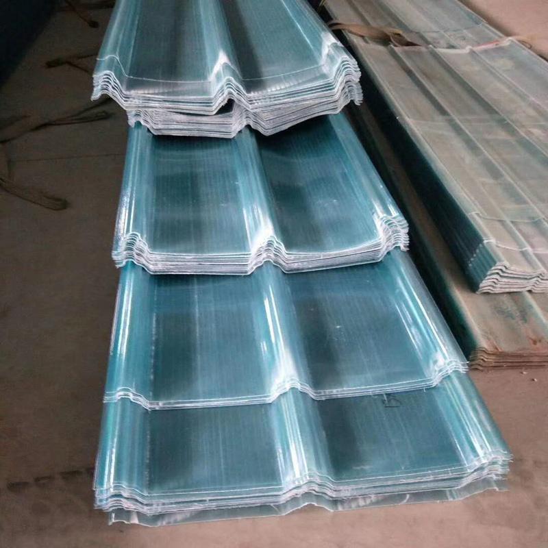 玻璃鋼採光板 陽光房屋頂採光瓦 溫室大棚採光平板