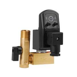 进口黄铜定时排水电磁阀-定时自动排放-排放时间可调