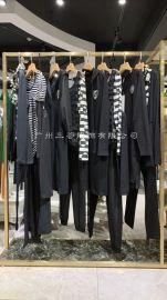 艾尔丽斯尾货品牌女装,直播货源走份打包女装
