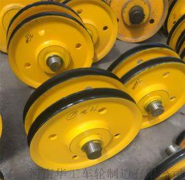 20t龙门吊滑轮组 单双梁行车滑轮组 导绳轮