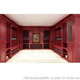湖南铝合金酒柜厂家供应一体式全铝酒柜