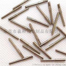 2*2.5*24H65黄铜镀镍开槽理疗线插针