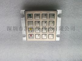 定制版3501J-01加密键盘银联认证核工业键盘