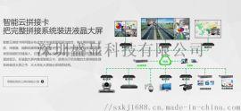 分布式拼接处理器流媒体视频+阿里云拉流处理器