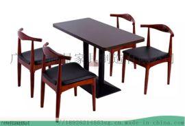 广东茶餐厅家具时尚港式休闲桌椅--找时景家具定制
