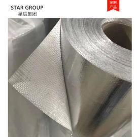 耐高温铝箔玻纤布 铝箔布 管道保温用