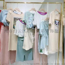 20秋广州十三行,韩版连衣裙,品牌折扣女装