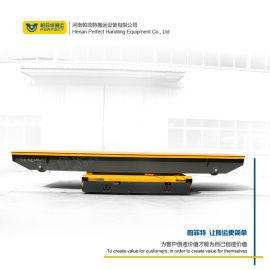 转运钢管工业板车电动轨道设备轨道搬运车 电动平板车
