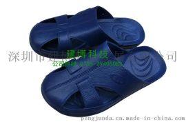 2014**款防静电拖鞋 食品/电子洁净防尘透气防护鞋 厂家直销