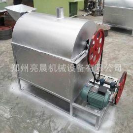 全自动滚筒炒锅机 电加热炒货机 多功能炒货机 坚果食品炒货机