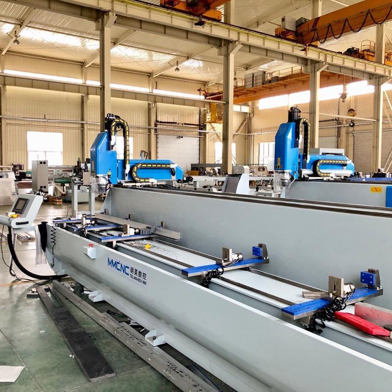 江蘇直銷明美SKX3-CNC-6000 鋁型材數控鑽銑牀 支持定製
