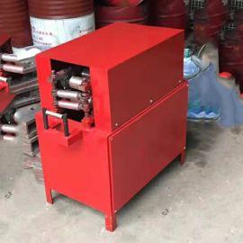 不锈钢波纹管压扁机BGJ100型扁管机椭圆金属螺旋管压管机