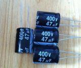 DIP直插式電解電容,47UF400V插件電解電容