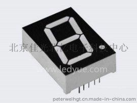 1.0英寸单一1位led数码管共阴共阳  色光10012AH/BHRSG仪器仪表机械设备面板显示厂家