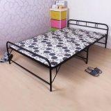 供应双人折叠午休床、陪护床、加固木板海棉二折床、临时用床