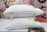 厂价直销五星级宾馆专用枕芯荆疆牌熊猫羽丝绒枕芯