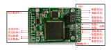 網路視頻信號轉同步422 視頻信號開發板