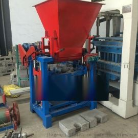 27年老厂直销吊篮配重混凝土配重块水泥砖机设备
