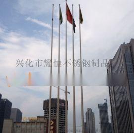 耀恒 专业生产不锈钢企业广告旗杆 单位品牌旗杆 工厂展示旗杆