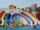 貴州遵義支架游泳池廠家定做水上樂園暢銷