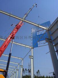 广东广州钢结构厂房平台别墅工程设计安装