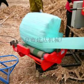 厂家生产青贮打捆包膜机 秸秆青储打捆机