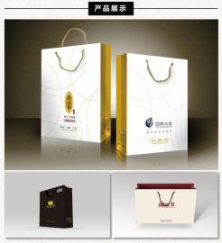信阳手提袋定制 铜版牛皮纸袋手提袋定制印刷LOGO