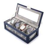 厂家定制高档pu皮革男士手表收藏盒手表整理盒