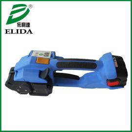 广州钢铁充电式PET捆包机 惠州电动塑钢带打包机