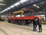 傑龍自卸8噸單橋隨車吊包送亳州
