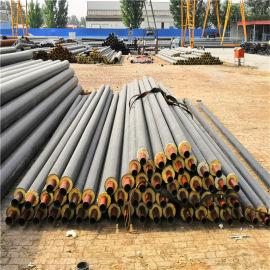 新疆 鑫龙日升 高密度聚乙烯聚氨酯发泡保温钢管 直埋发泡保温管