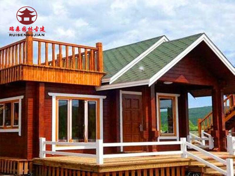 重庆瑞森木屋别墅定制厂家,木质房屋能抗震 环保
