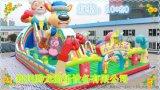 雲南大型兒童充氣滑梯生產廠家 兒童充氣城堡價格