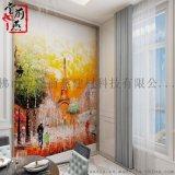 清远堂前燕艺术背景墙