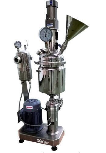 GMD2000/4高品相镍粉高剪切研磨分散机