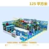淘气堡儿童乐园艺术景观装饰 室内游乐场环境装修设计