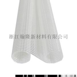 6P環保210D高強紗週轉箱專用PVC透明夾網布