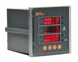 安科瑞三相电流表PZ80-AI3/JC 带继电器报警