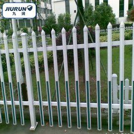PVC护栏, 小区别墅栅栏, 园艺绿化带围栏