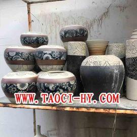 陶艺花盆极品礼品瓷各色冰裂景观陶艺定制陶瓷