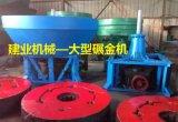 非洲矿业指定金矿设备碾金机也叫轮碾机或者混汞机