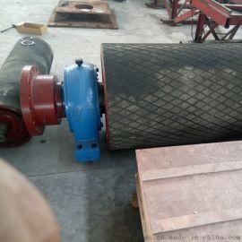 煤矿皮带机阻燃包胶滚筒 标准的阻燃包胶滚筒