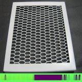 热销铝网板 优质网板定制厂家 微孔吸音格子铝网板