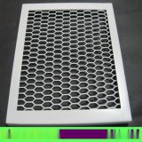 热销铝网板 网板定制厂家 微孔吸音格子铝网板