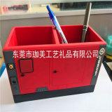 供应PVC软胶拼装笔筒 硅胶笔筒 塑胶笔筒 品质好