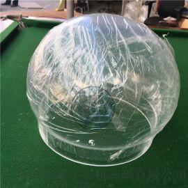 亚克力半球透明 圆形防尘罩 产品展示防护球罩