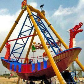 游乐场24座海盗船大型户外游乐设施疯狂海盗船设备