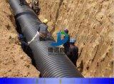 dn600市政排水排污鋼帶波紋管 600排污管