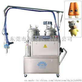 东莞久耐厂家定制慢回弹软泡发泡机,聚氨酯发泡机